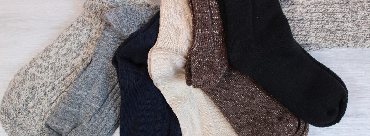 Calze lana canapa cotone naturale bio